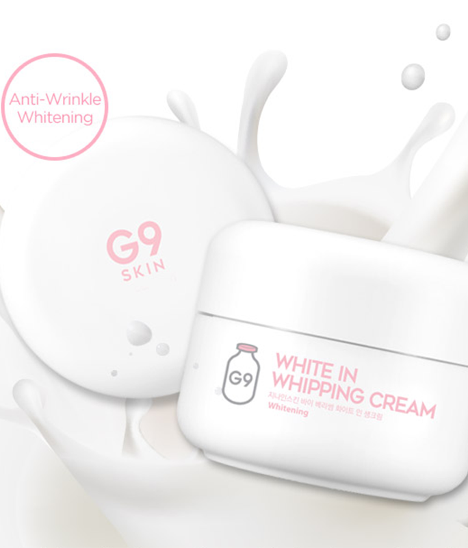 Kem dưỡng trắng da, mờ thâm tàn nhang G9-Skin White In Whipping Cream