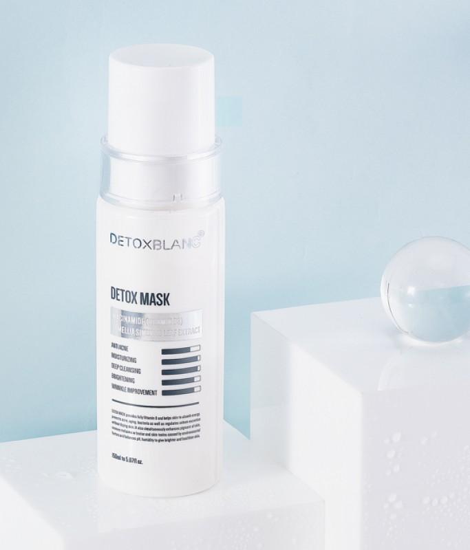 Mặt nạ sủi bọt thải độc Detox Blanc chính hãng - Mask mẫu mới