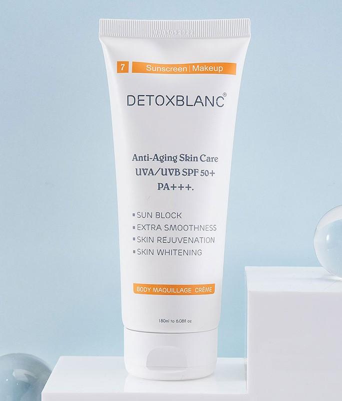 Kem dưỡng trắng da chống nắng Detox BlanC Body