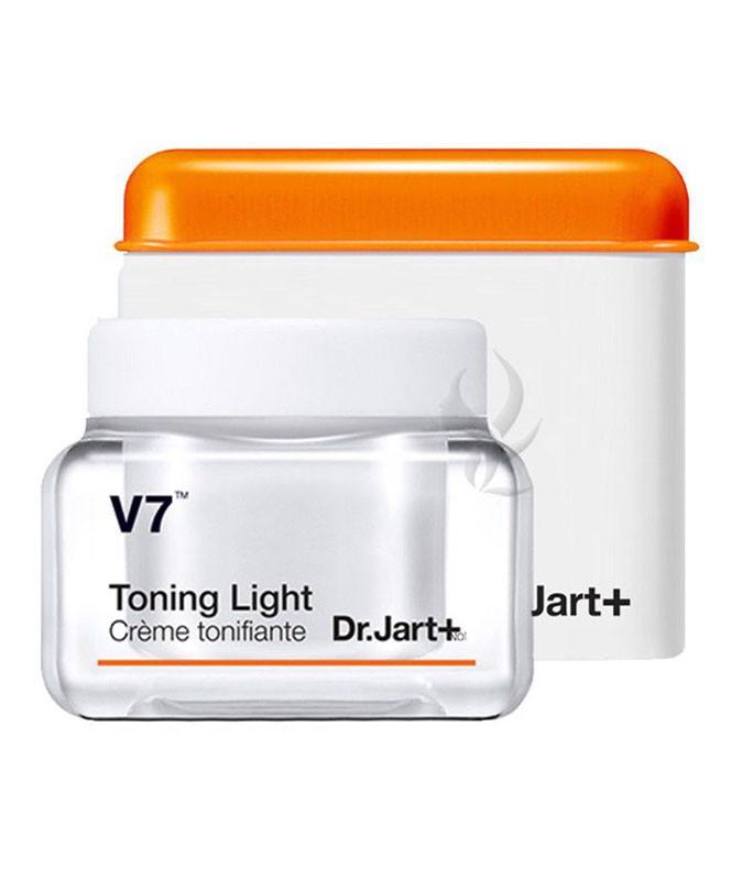 Kem dưỡng trắng và tái tạo da Dr.Jart + V7 Toning Light 50ml