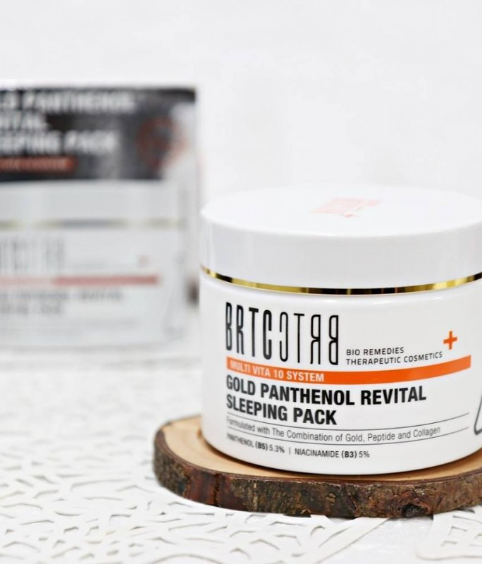 Mặt nạ (kem) ngủ siêu dưỡng trắng da BRTC chính hãng
