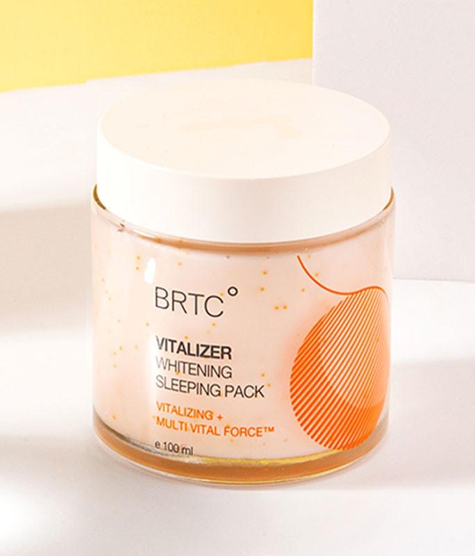 Kem ngủ dưỡng trắng và căn mịn da BRTC V10 Multi Lift / Vitalizer Whitening Sleeping Pack