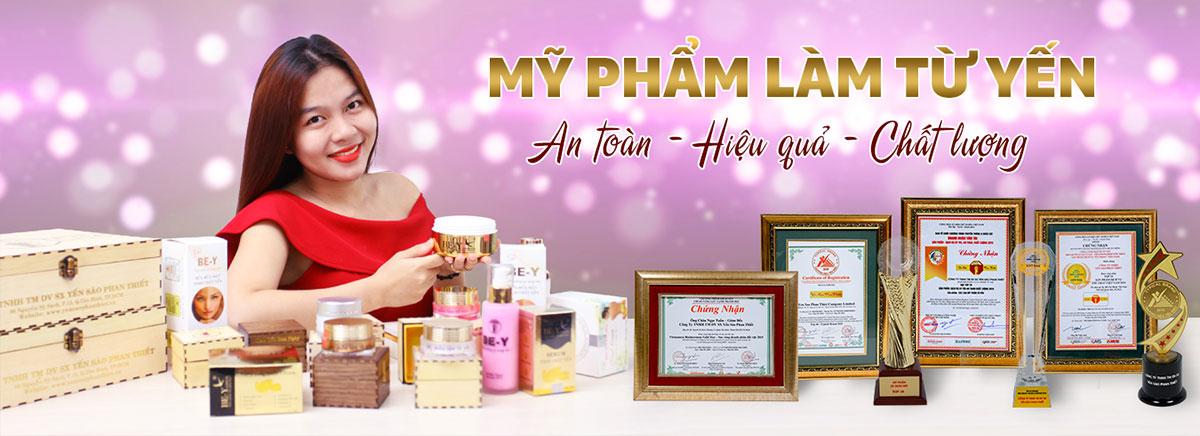 Be-Y, Pearl Ovum là thương hiệu mỹ phẩm tinh chất yến hàng đầu Việt Nam hiện nay
