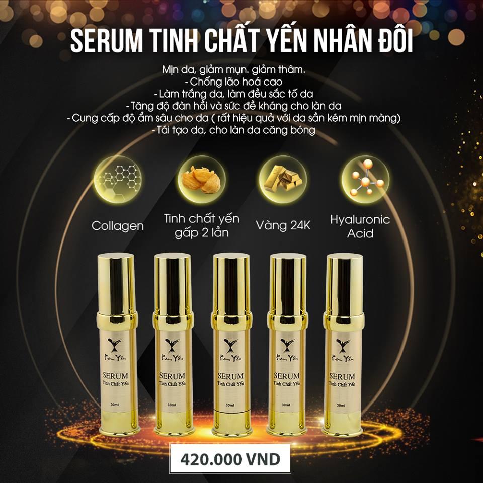 Serum vàng 24k tinh chất yến